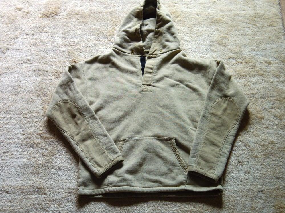 アノラック型パーカー(綿100%)