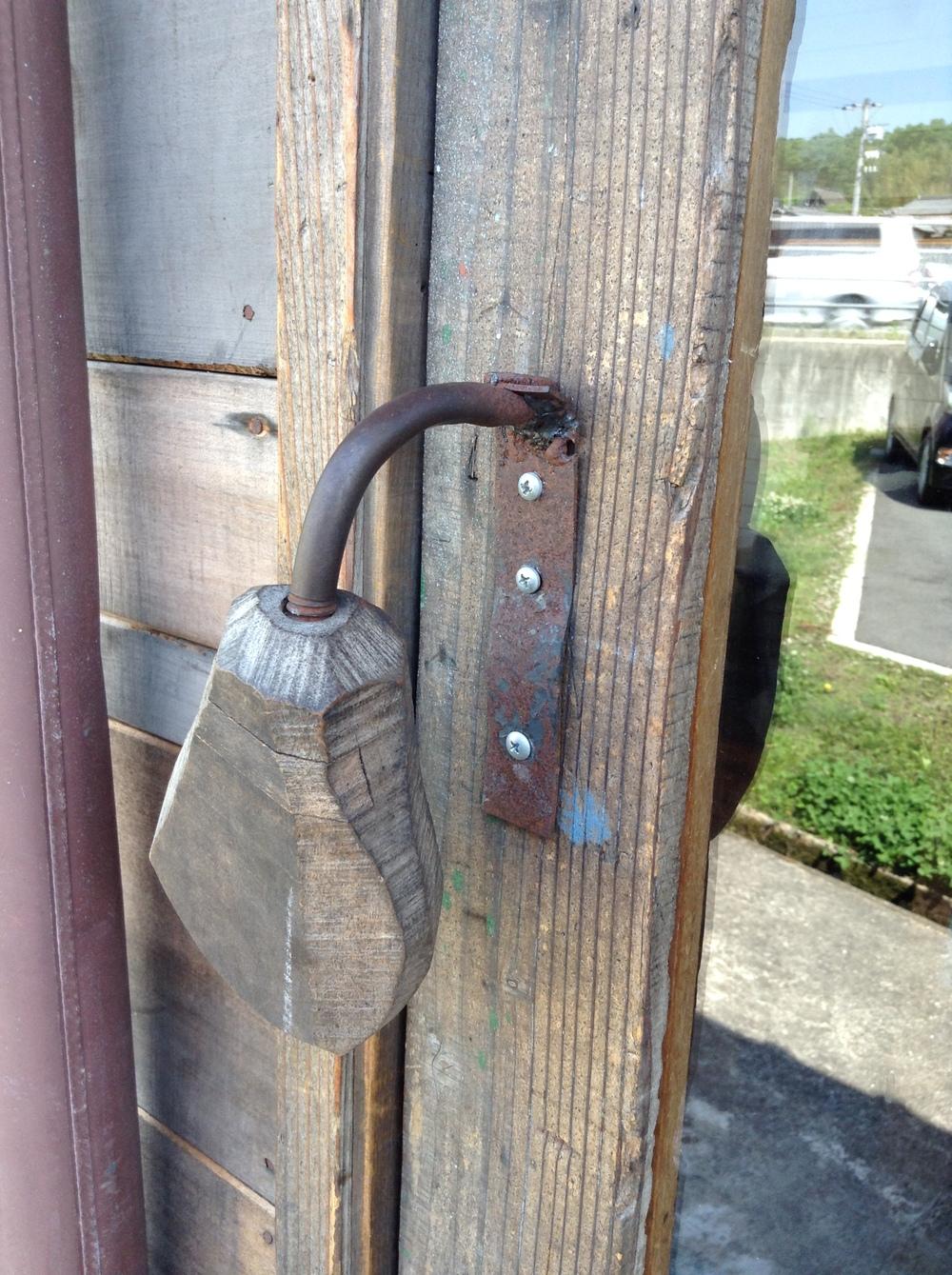 キビトパンさんの扉のハンドル