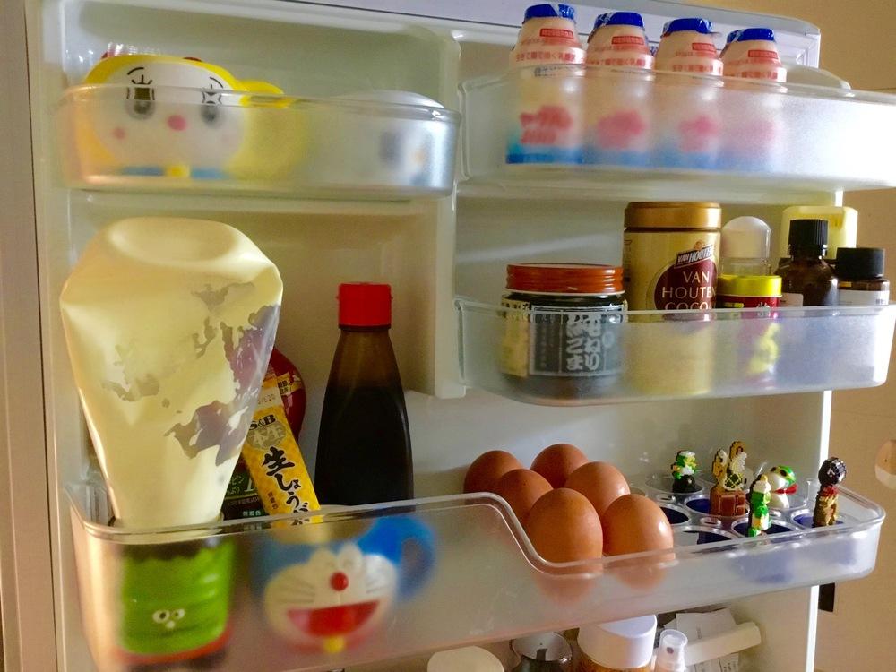 冷蔵庫のドアポケット