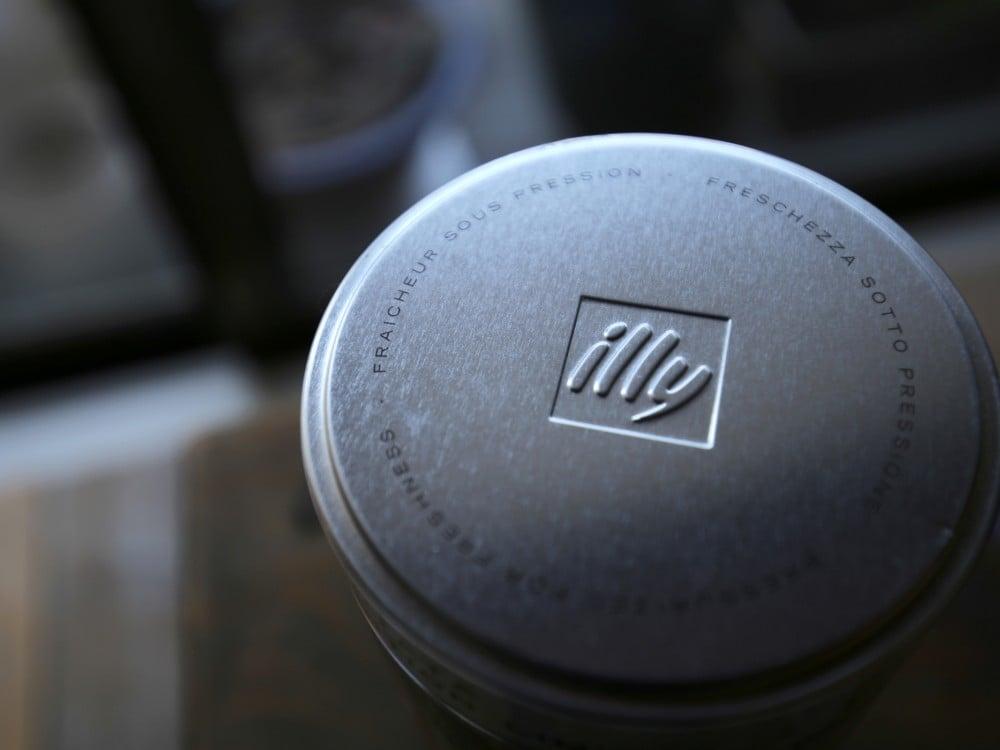 illyのパウダーコーヒー缶のフタ