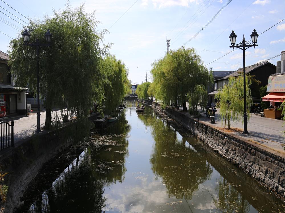 柳川の掘割