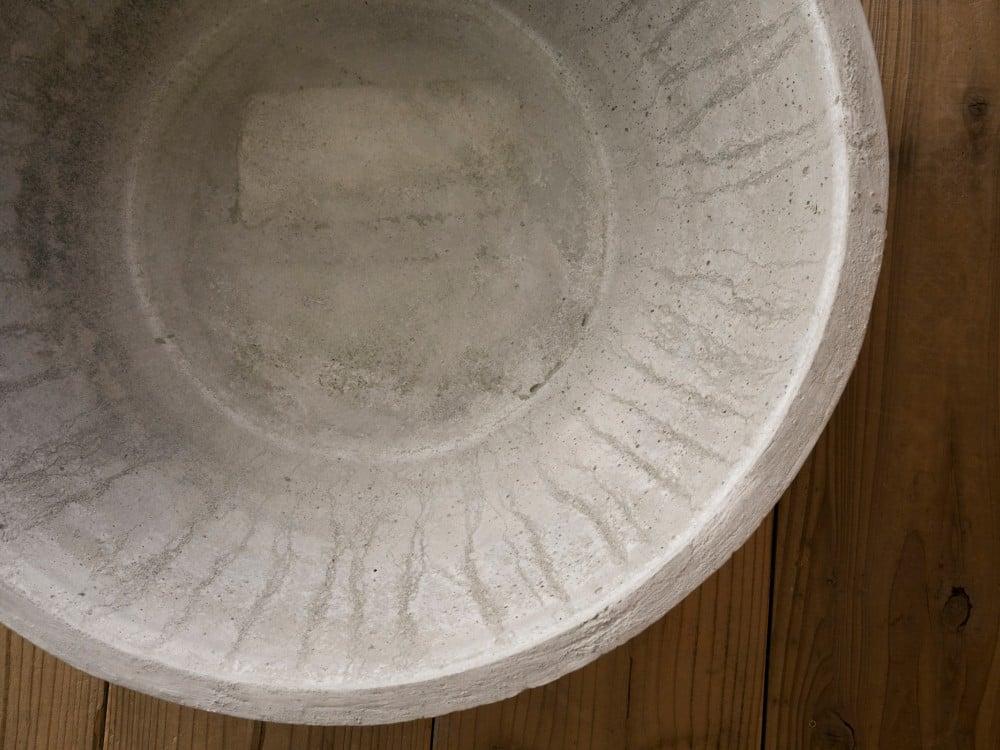 土佐錦用のモルタルの鉢