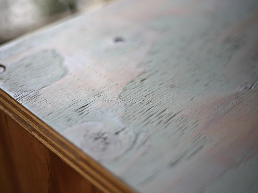 コの字の家具(机)の天板