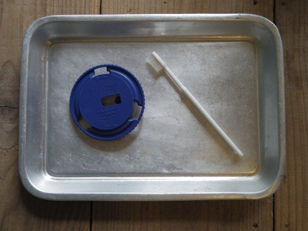 アラジンストーブの芯クリーナー