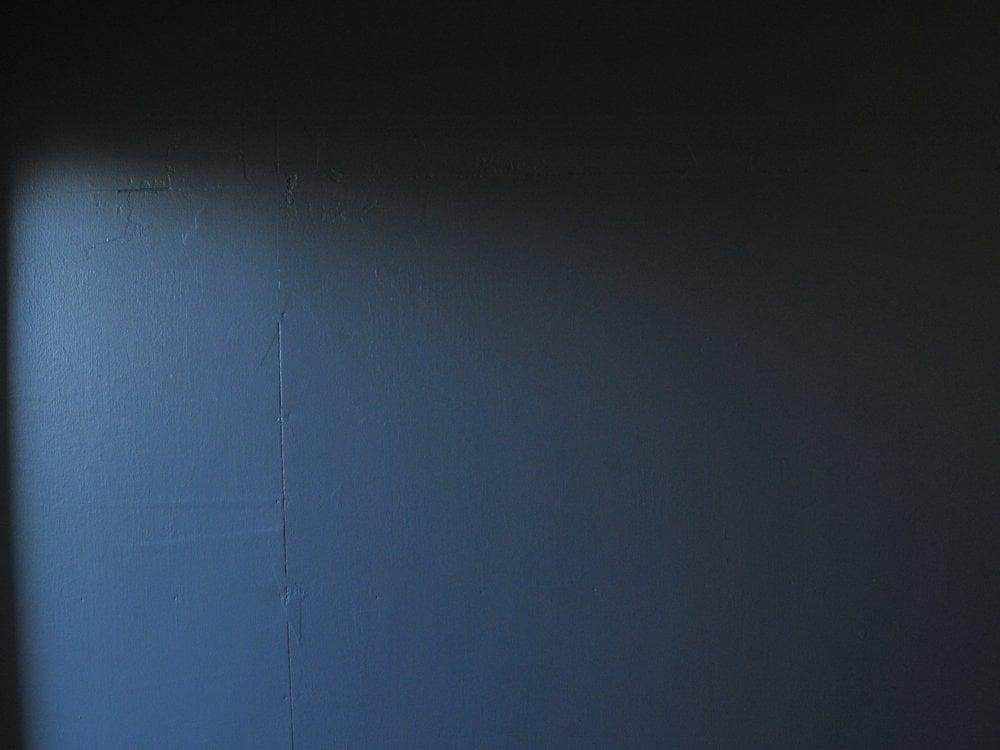 玄関のアクセントカラー
