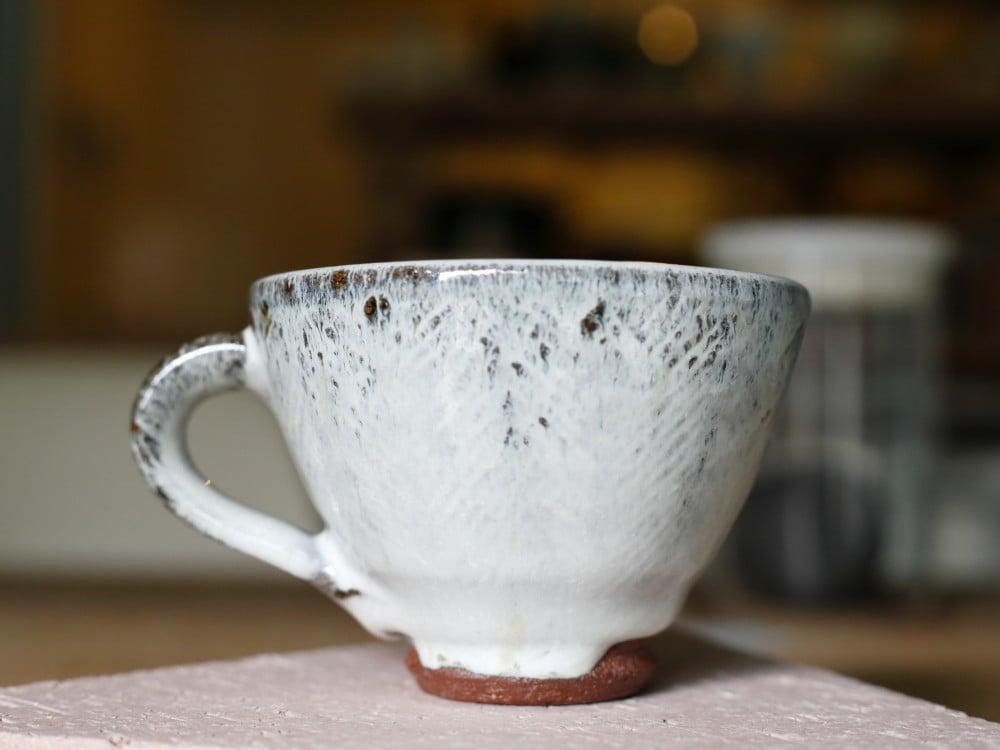 小代瑞穂窯のコーヒーカップ