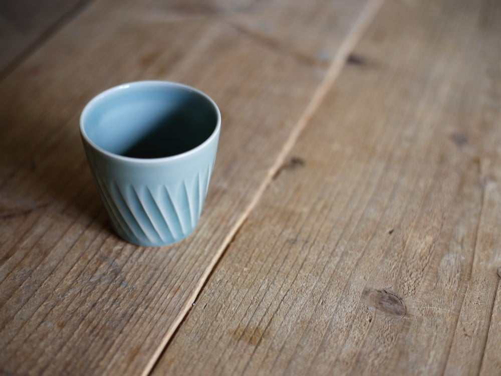 王地山陶器所の小皿