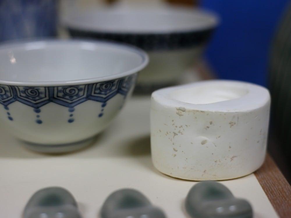 焼物の石膏の型