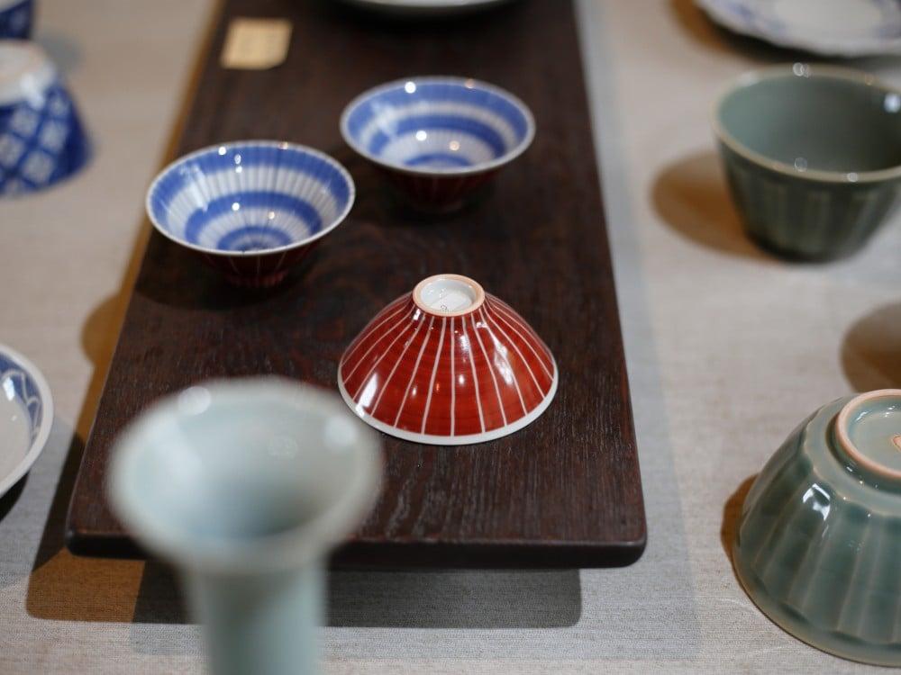 王地山陶器所の貝の様な器