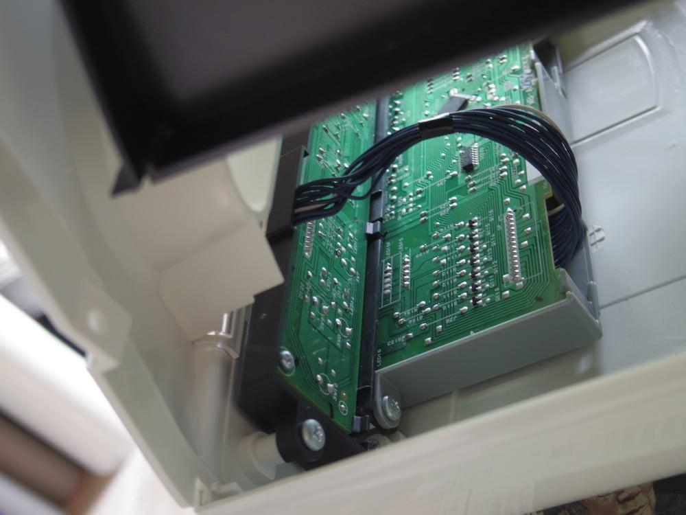 スイッチ、LEDランプの基盤