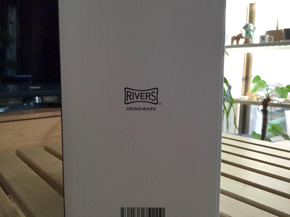 箱の裏にはRIVERSのロゴ入り