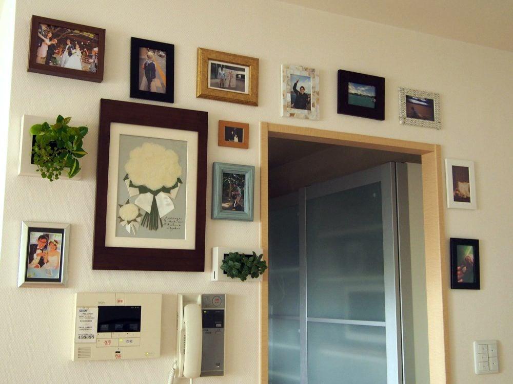 購入したばかりの無印の壁掛け植物