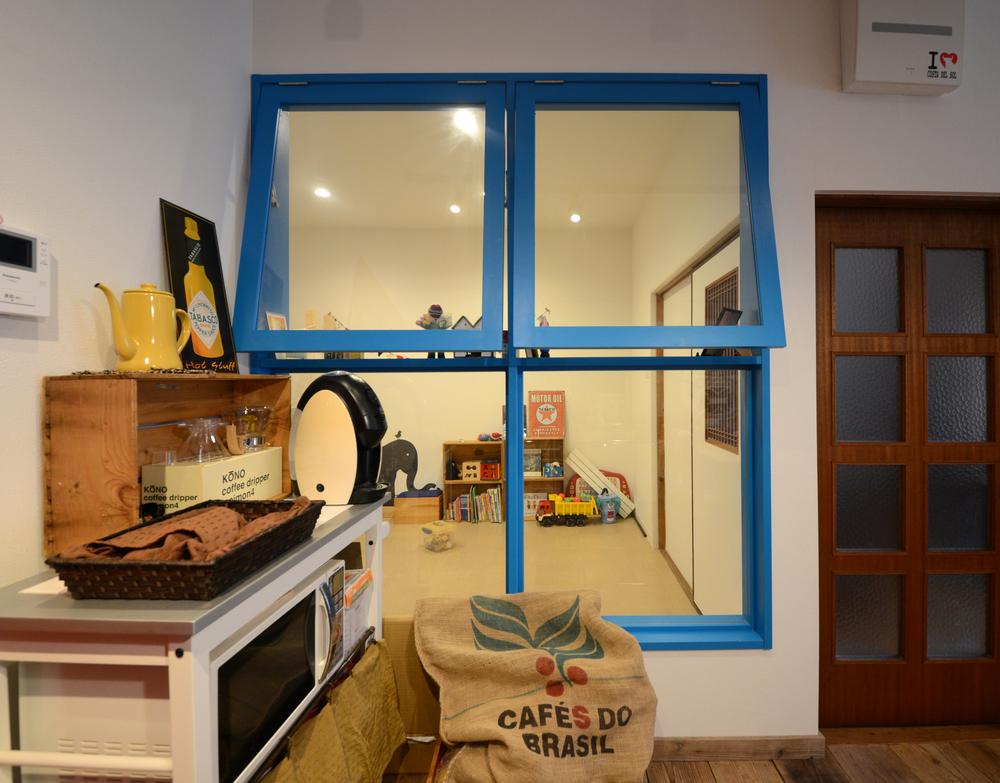 FIX窓+押し上げ窓のパターン。