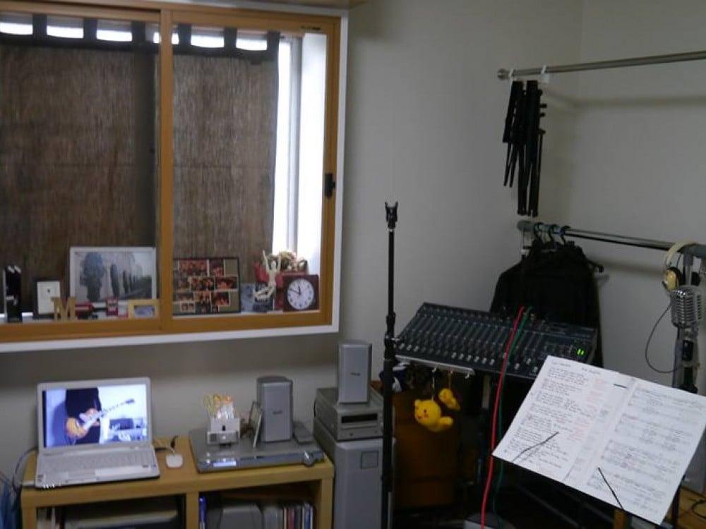 部屋の全体写真