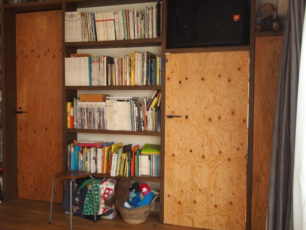 書斎の入口