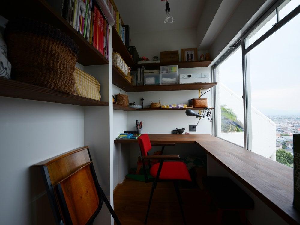眺めのいい書斎