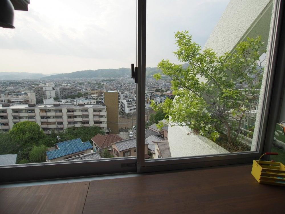 書斎からの眺め