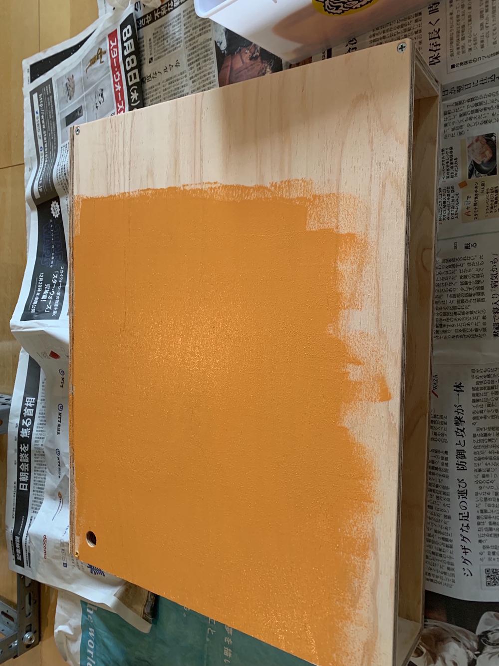 ローラー塗装、快適!