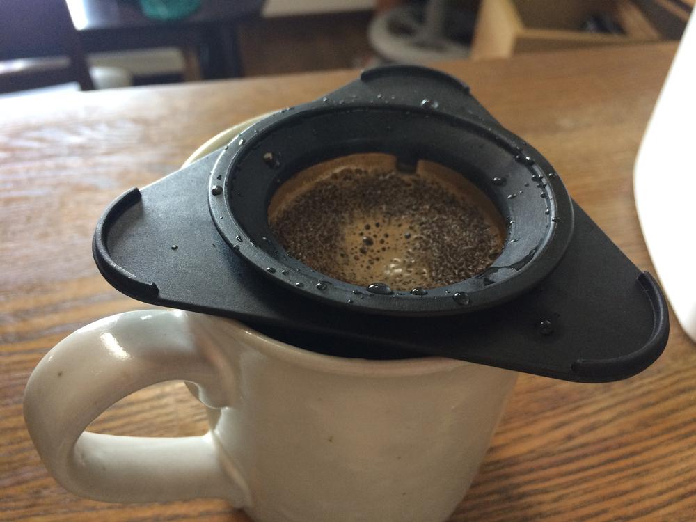 ゴールドフィルターでコーヒーを入れてみる