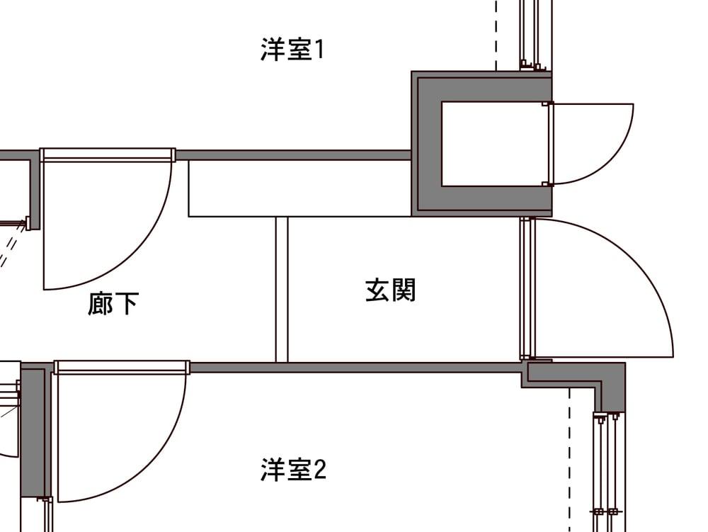 Before図面(玄関)