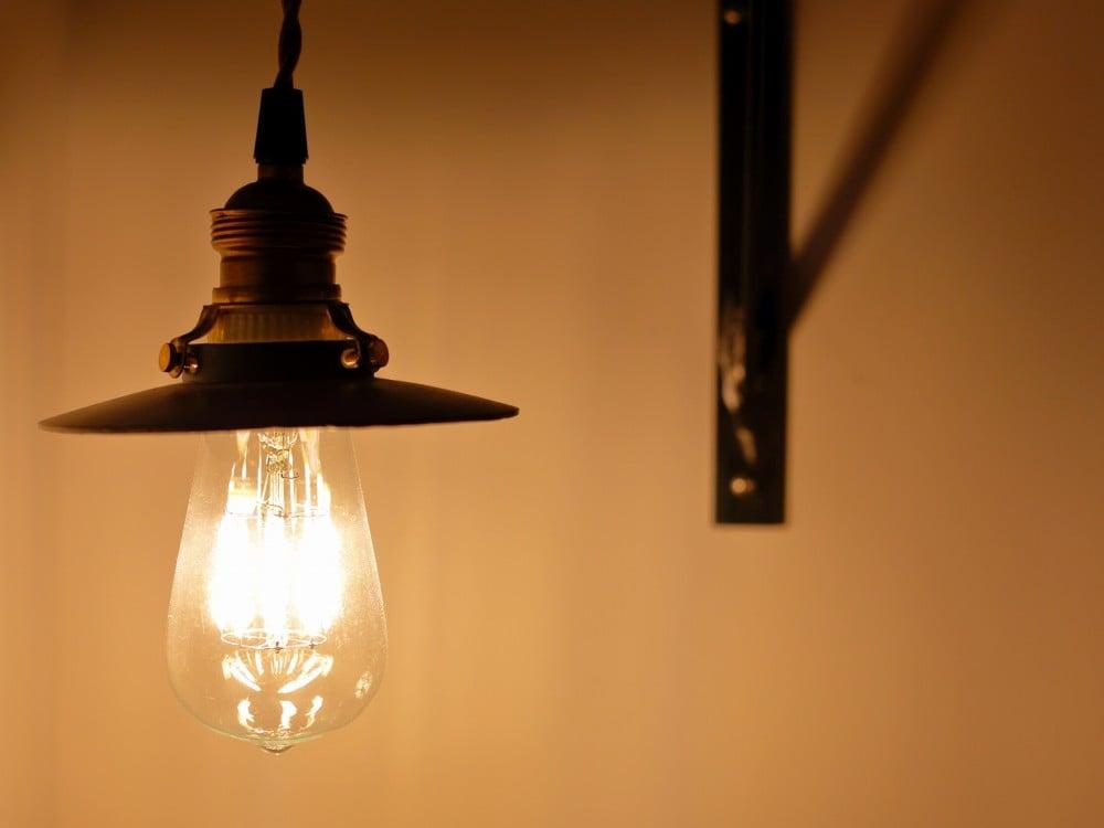LEDのエジソンランプ