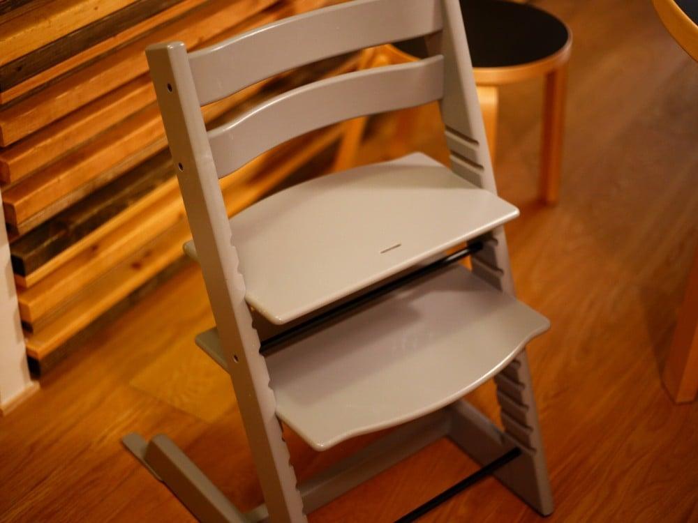 高さ調整が可能な椅子 ストッケのトリップトラップチェア