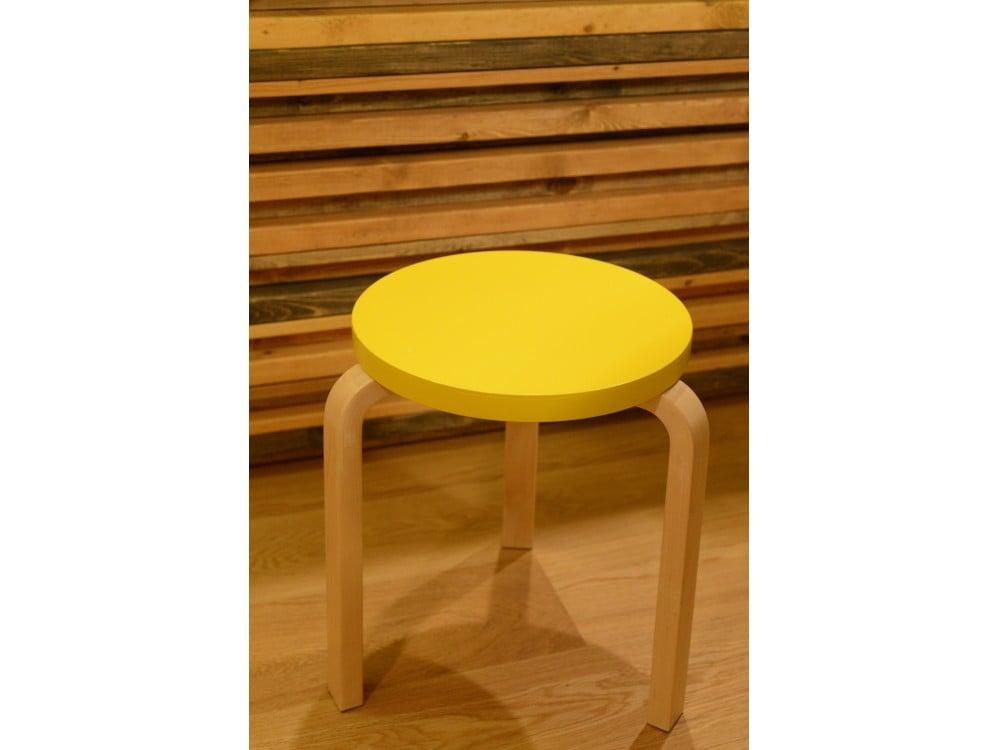 artek stool パイミオカラーのイエロー