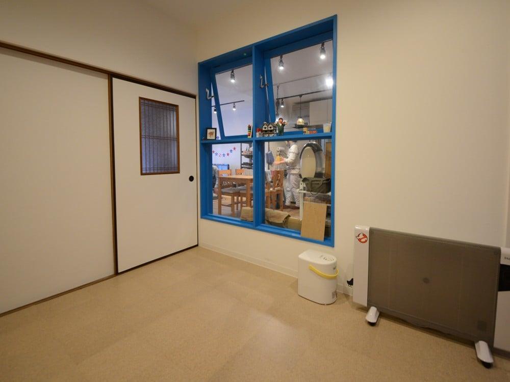 リノベーション後の洋室