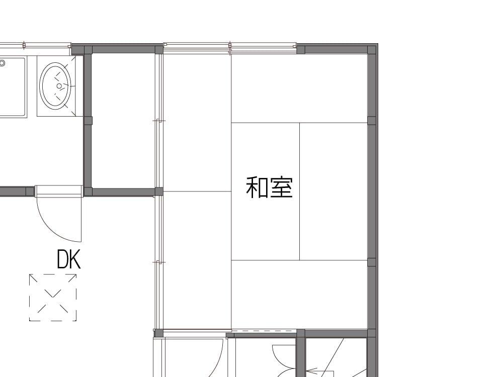 Before図面(元和室)
