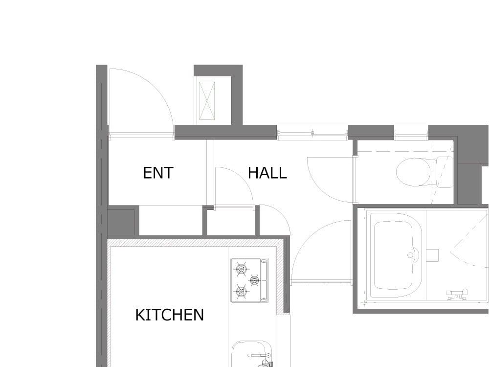 玄関のAfter図面