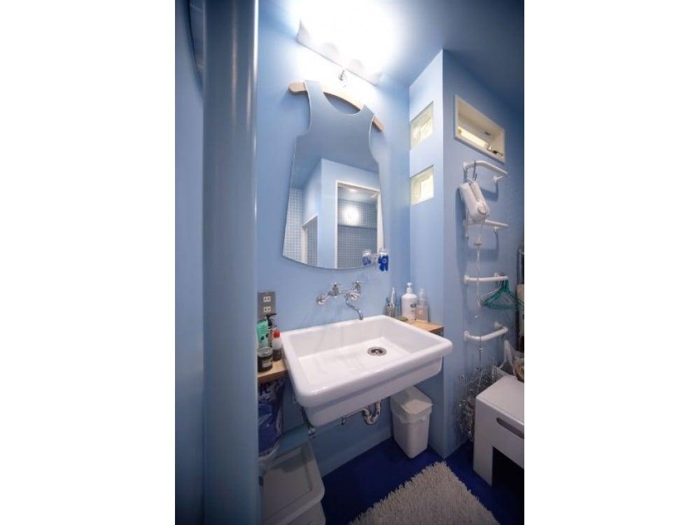 我が家の洗面室