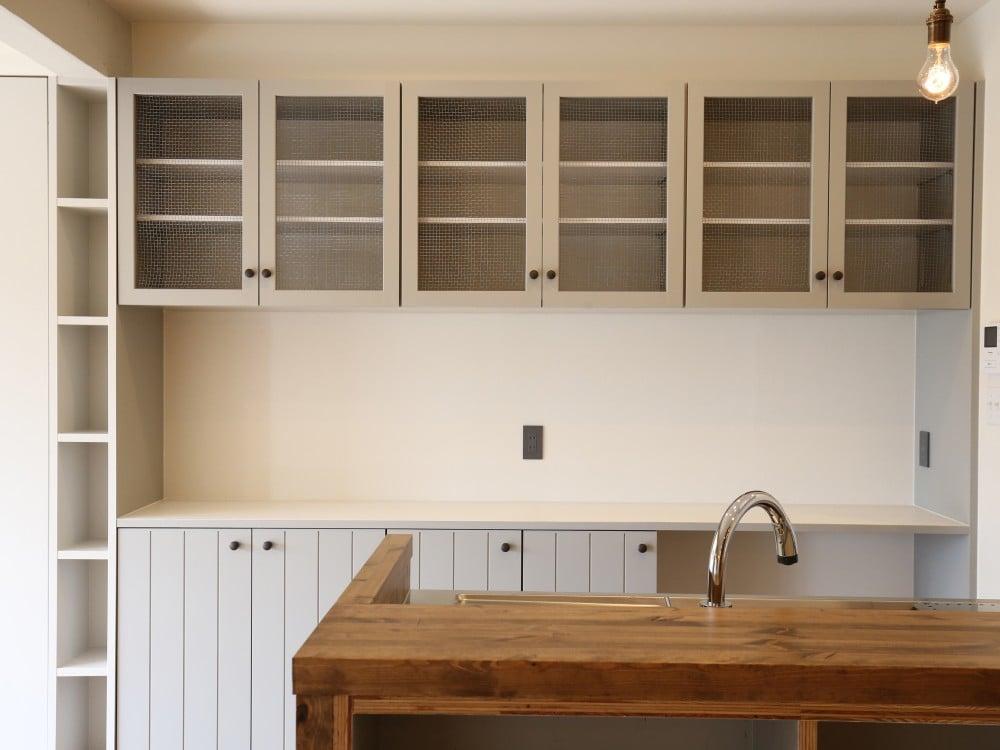 のりすけさんデザインのキッチンボード