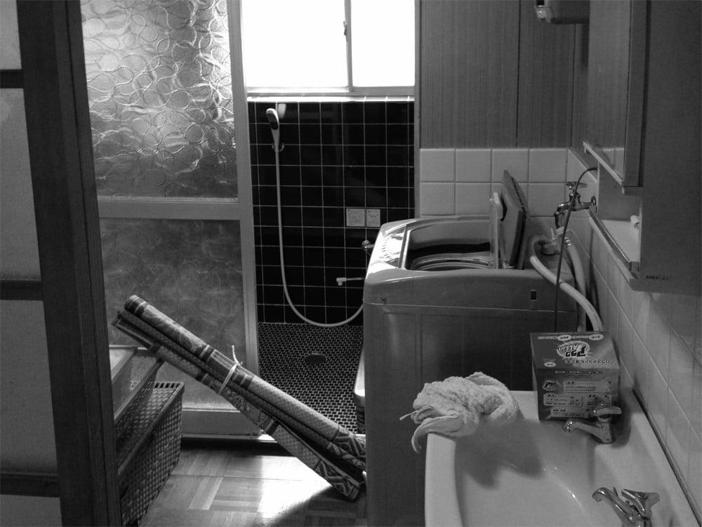 洗面室のリノベーション前