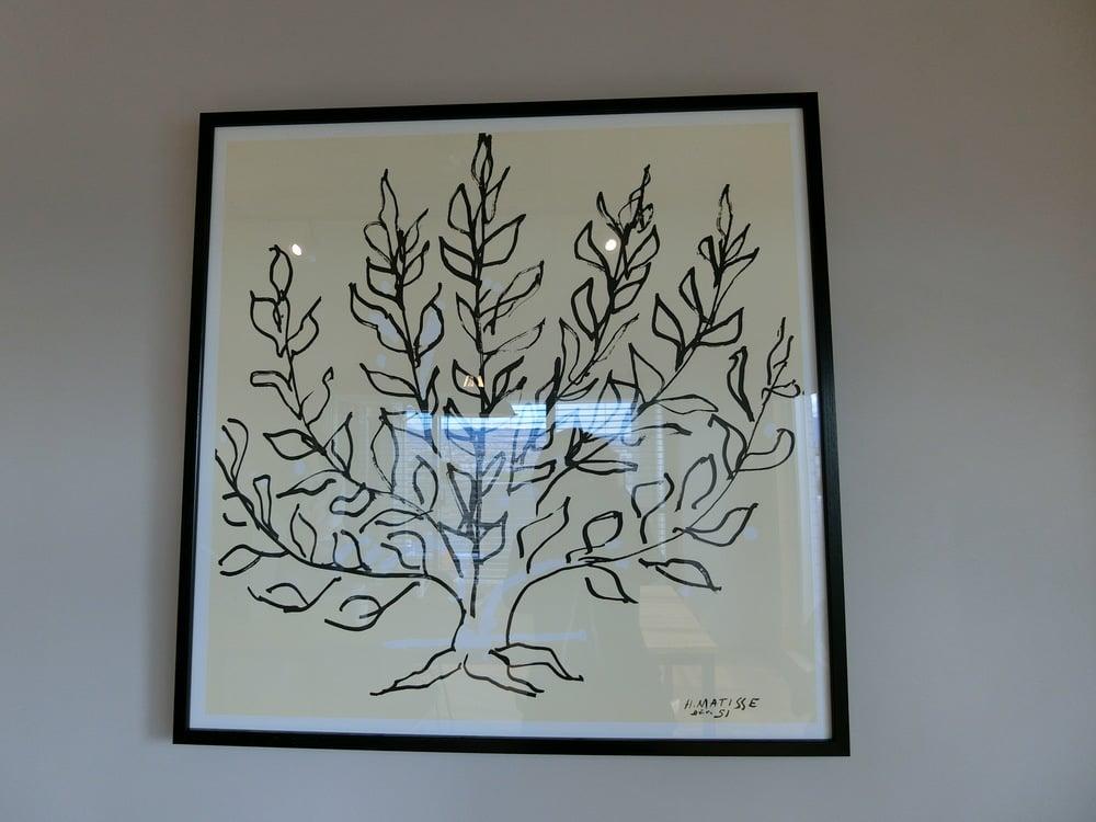 アンリ・マティスの「低木」