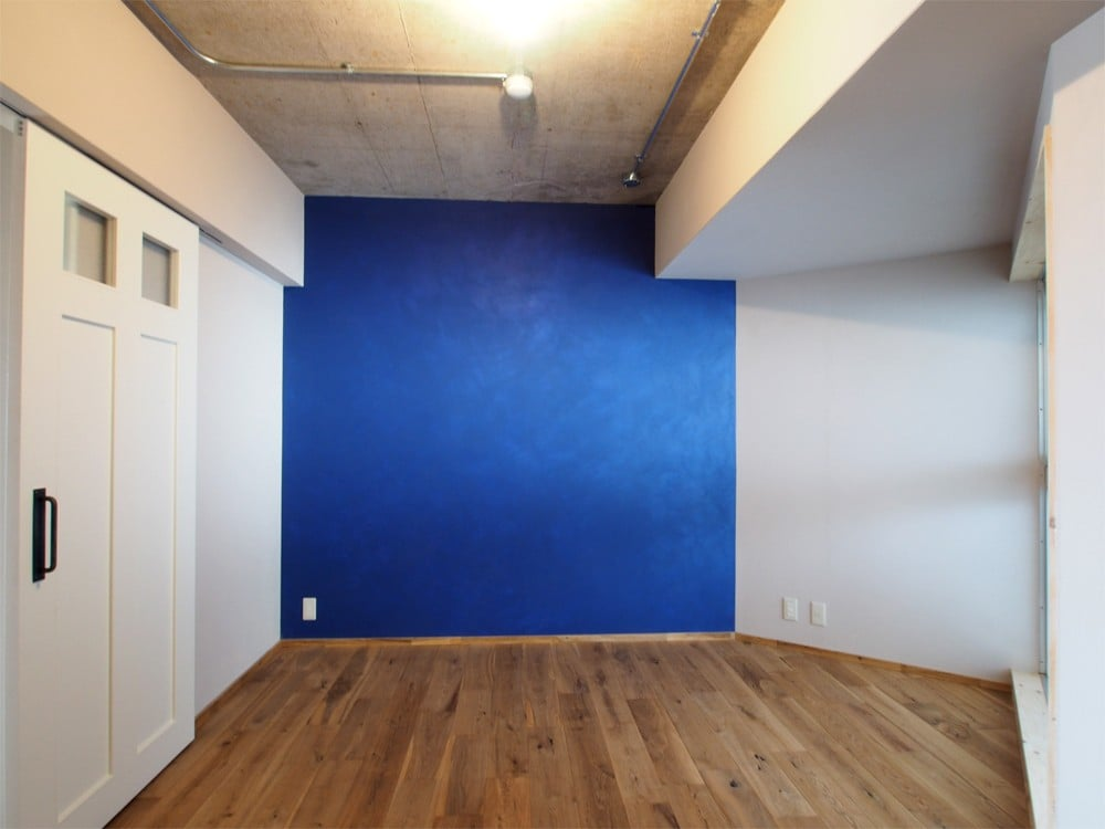 ポーターズペイントで塗装した壁
