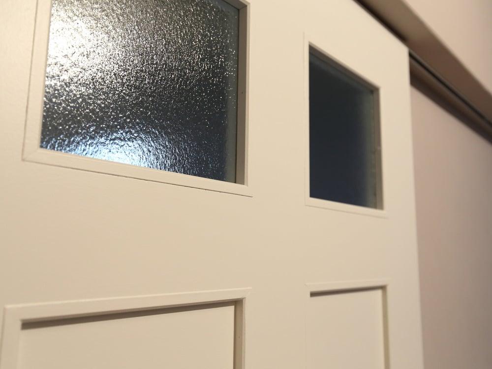 4mm型ガラスの窓パネル