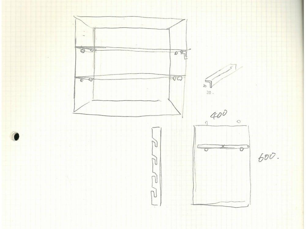棚板固定方法