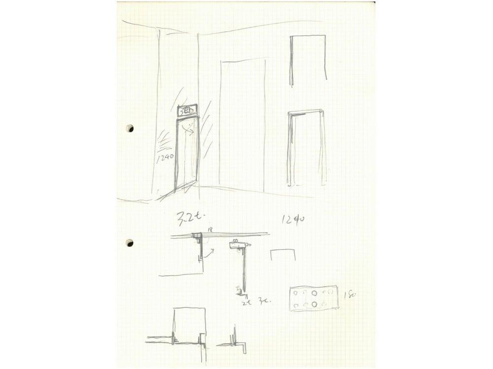 玄関収納の設計図