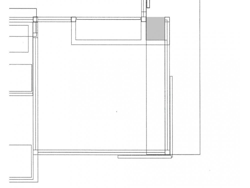 玄関収納の位置を示す図面