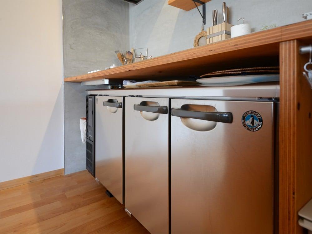 ホシザキの冷蔵庫