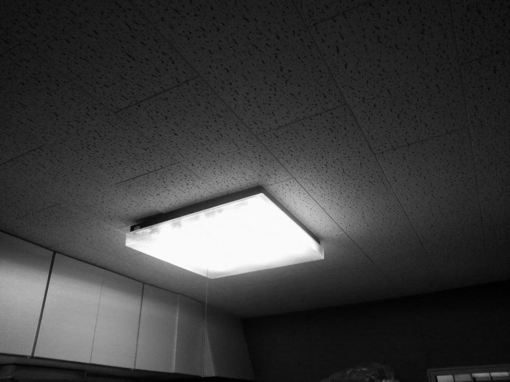 化粧石膏ボード張りの天井