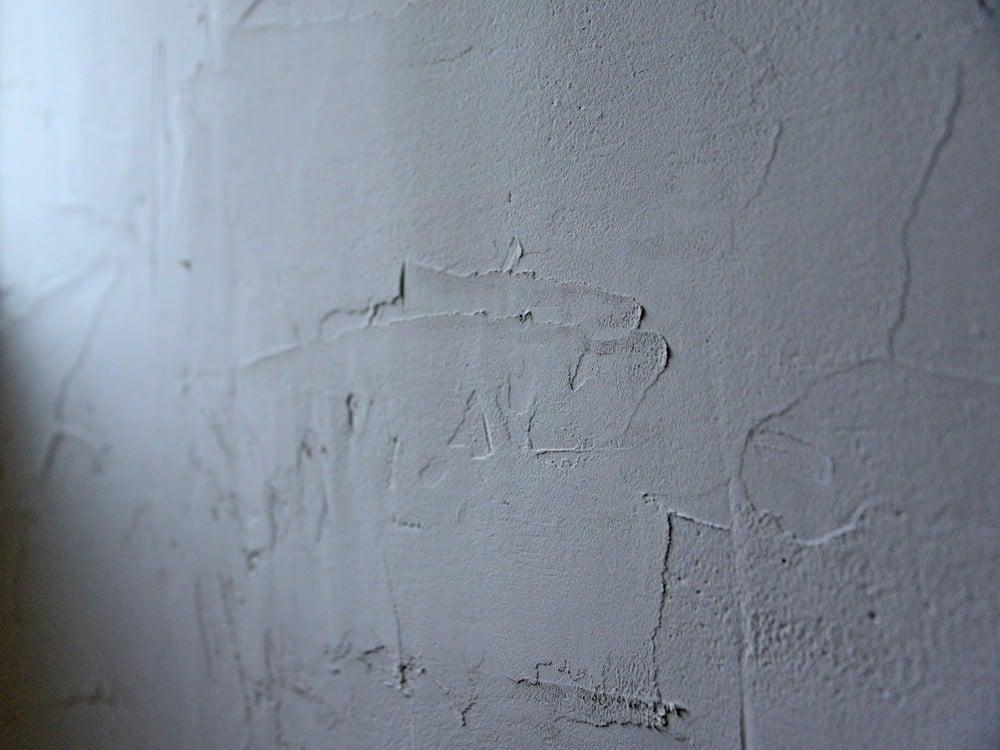 DIYで漆喰を塗った壁