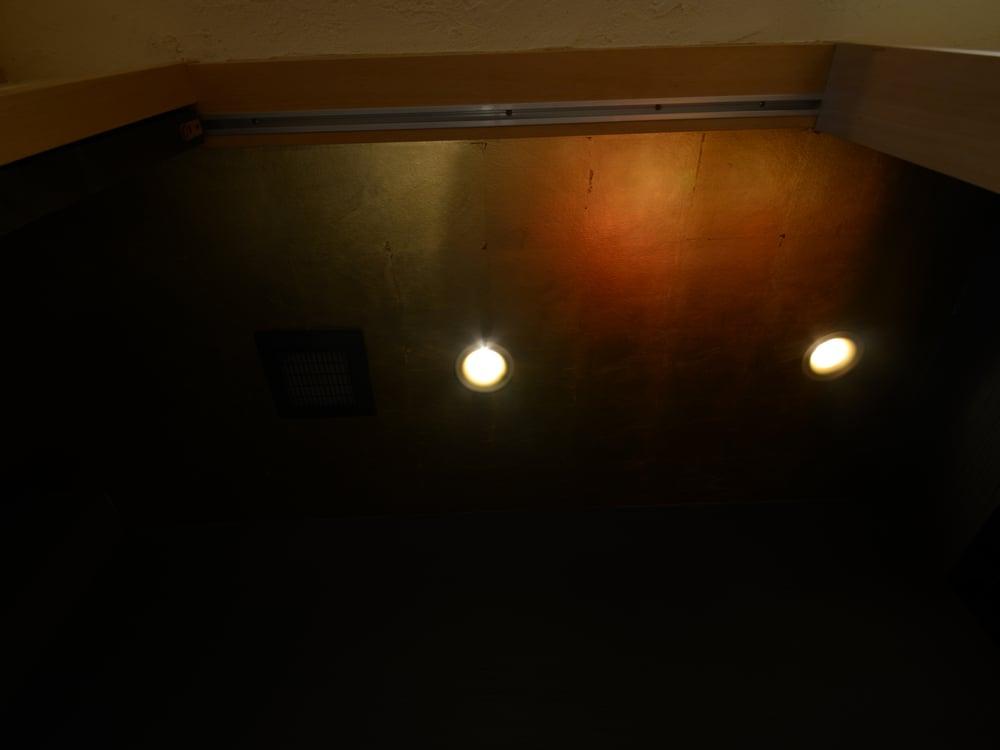 サンゲツのSG5062。床の間の余りをトイレの天井に