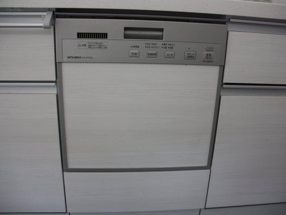 EW-DP45S。扉はキッチンと同素材