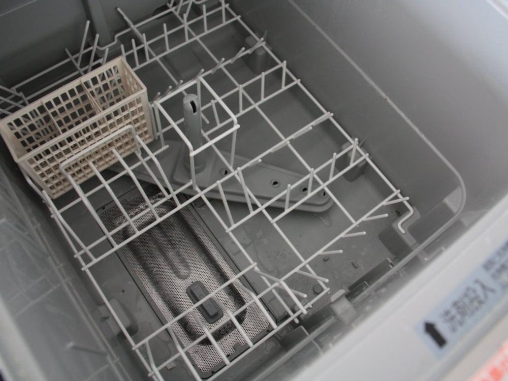 EW-DP45Sの庫内。頻繁に掃除する必要はありません。