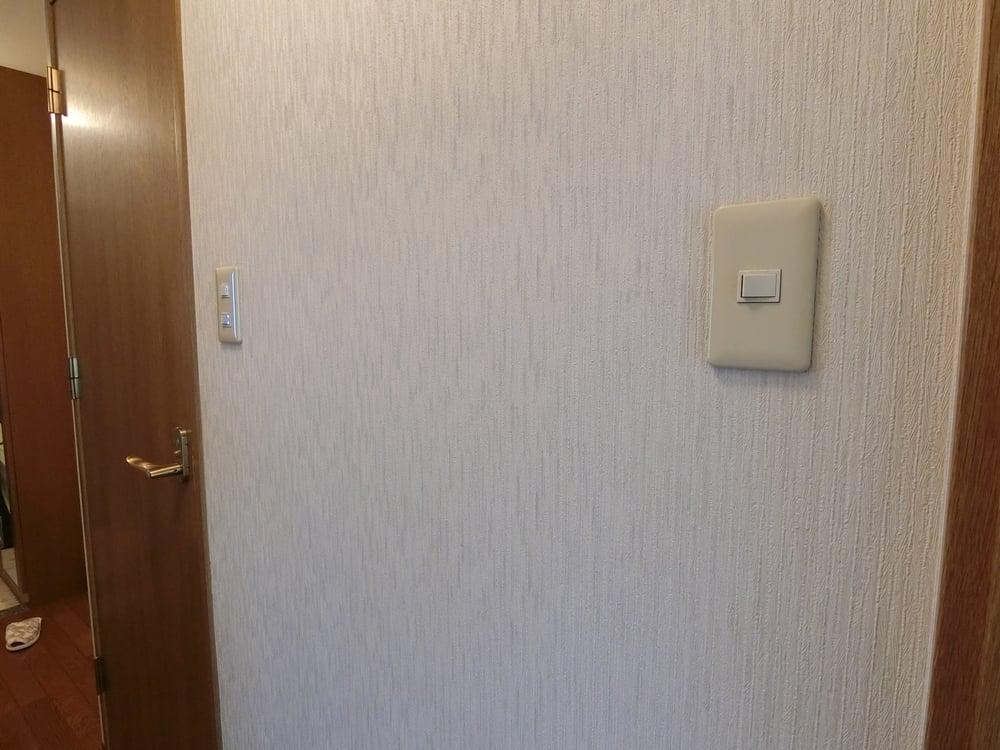 洗面室の入口になります