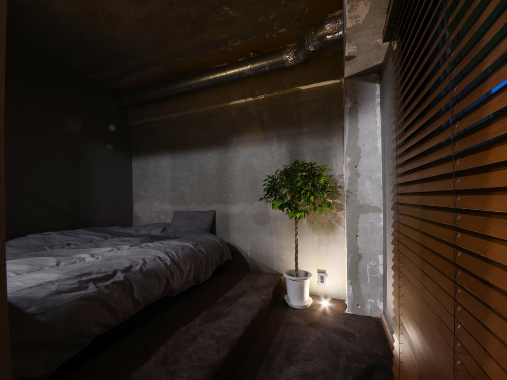ベッドルームのアッパーライト