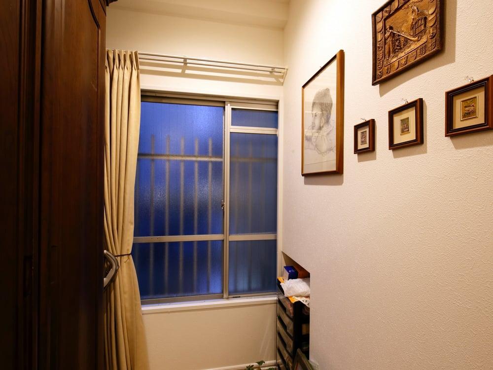ポイントその1、窓。