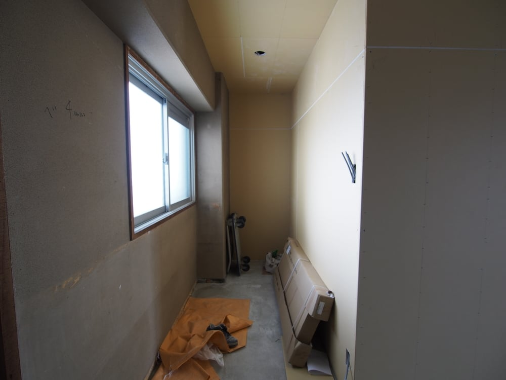 天井・壁面が完成