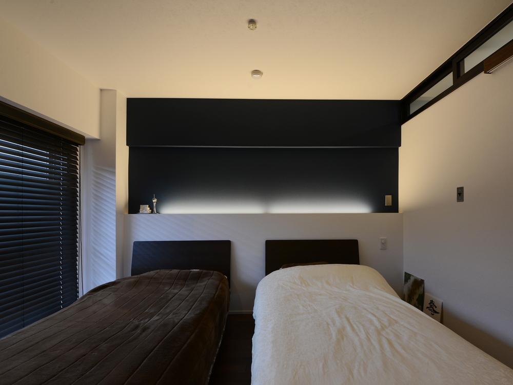 ベッドルーム正面
